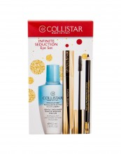 Collistar Infinito Mascara 11 ml + Eye Pencil With Applicator 1,2 g Black + Makeup Remover Gentle Two Phase 50 ml Extra Black naisille 60797
