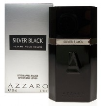 Azzaro Silver Black Aftershave 50ml miehille 75037