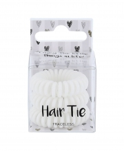 2K Hair Tie Cosmetic 3ks White naisille 42106