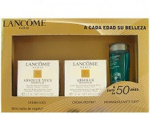 Lancome Absolue Yeux Premium Bx 15ml Absolue Yeux Premium Bx + 15ml Absolue Premium Bx SPF15 + 30ml Bi-Facil naisille 97013