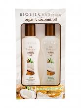 Farouk Systems Biosilk Silk Therapy Shampoo 3 in 1 167 ml + Leave in Care 167 ml naisille 96115