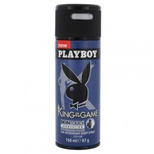 Playboy King of the Game Deodorant 150ml miehille 48573