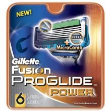 Gillette Fusion Proglide Power Replacement blade 8pc miehille 01033