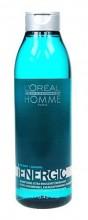 L´Oreal Paris Homme Energic Shampoo Cosmetic 250ml miehille 53407