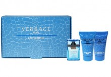 Versace Man Eau Fraiche Edt 5ml + 25ml Shower gel + 25ml After shave balm miehille 00204