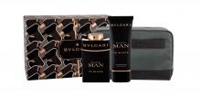 Bvlgari Man In Black Edp 100 ml + Aftershave Balm 100 ml + Cosmetic Bag miehille 00681