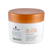 Schwarzkopf BC Cell Perfector Q10 Time Restore Treatment Cosmetic 200ml naisille 38693