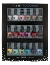2K Let´s Get Colourful! Nail Polish Collection Nail polish 18x 3.5 ml naisille 41574