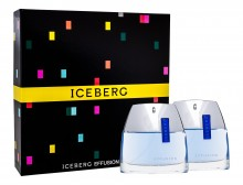 Iceberg Effusion Man Edt 75 ml + Aftershave Lotion 75 ml miehille 86059