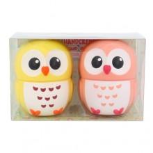 2K Duo Hand Cream Cream for hand 16 g Vanilla + Cream for hand 16 g Peach naisille 43273