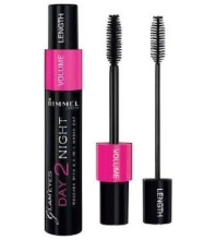 Rimmel London Day 2 Night Mascara 9,5ml 001 Black naisille 07622