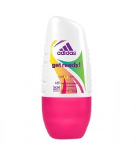 Adidas Get Ready! Deo Rollon 50ml naisille 05357