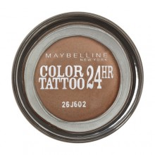 Maybelline Color Tattoo Eye Shadow 4g 55 Immortal Charcoal naisille 77631