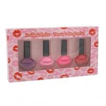 2K Nails With A Kiss nail polish 4 x 6 ml naisille 40584