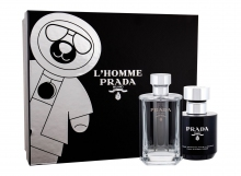 Prada L´Homme Edt 50 ml + Shower Cream 100 ml miehille 86411