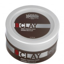 L´Oreal Paris Homme Clay Fixation Cosmetic 50ml miehille 87273
