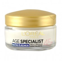 L´Oreal Paris Age Specialist 45+ Night Cream Cosmetic 50ml naisille 50143