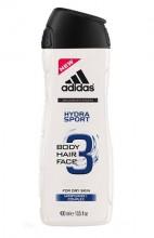 Adidas 3in1 Hydra Sport Shower gel 250ml miehille 68081
