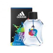 Adidas Team Five Eau de Toilette 100ml miehille 51035