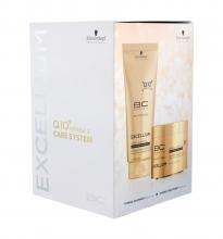 Schwarzkopf BC Bonacure Excellium Shampoo 200 ml + Hair Mask 150 ml naisille 61834