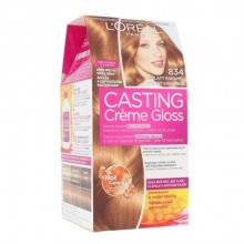 L´Oréal Paris Casting Creme Gloss Hair Color 1pc 834 Hot Caramel naisille 34959