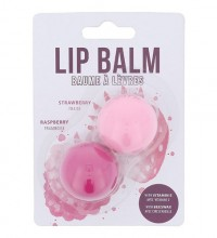 2K Lip Balm 2,8g Strawberry Lip Balm + 2,8g Raspberry Lip Balm Strawberry naisille 41901