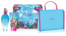 Escada Turquoise Summer EDT 100ml + 150ml body lotion + cosmetic bag naisille 05891
