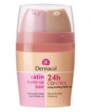 Dermacol 24h Control Make-Up + Satin Make-Up Base Cosmetic 30ml 2 naisille