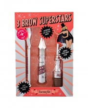 Benefit Gimme Brow+ Microfiber Gel For Full Brows 3 g + Brow Pencil Goof Proof 0,17 g + Smudge-proof Brow Color Ka-Brow! 1,5 g 3 Warm Light Brown naisille 13382