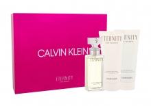 Calvin Klein Eternity Edp 50 ml + Body Lotion 100 ml + Shower Gel 100 ml naisille 52199