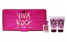 John Richmond Viva Rock Edt 4,5ml + 25ml Body lotion + 25ml Shower gel naisille 06102