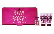 John Richmond Viva Rock Edt 4,5ml + 25ml Body lotion + 25ml Shower gel naisille 06102