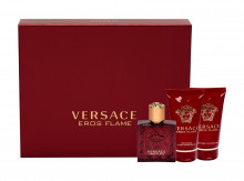 Versace Eros Edp 50 ml + Aftershave Balm 50 ml + Shower Gel 50 ml miehille 50679