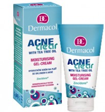 Dermacol AcneClear Moisturising Gel-Cream Cosmetic 50ml naisille 35166