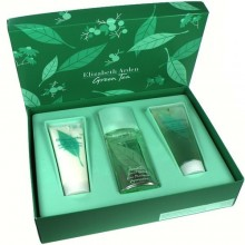 Elizabeth Arden Green Tea Edp 100ml + 100ml Body lotion + 100ml Shower gel naisille 51508