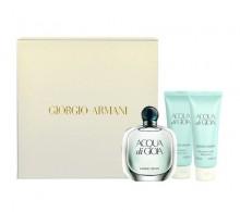 Giorgio Armani Acqua di Gioia Edp 50ml + 75ml body lotion + 75ml shower gel naisille 81093