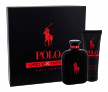 Ralph Lauren Polo Red Extreme Perfume 125 ml + Shower Gel 100 ml miehille 71165