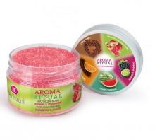 Dermacol Aroma Ritual Body Scrub Rhubarb&Strawberry Cosmetic 200g naisille 96872