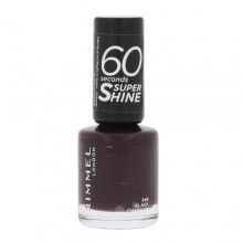 Rimmel London 60 Seconds Nail Polish 8ml 345 Black Cherries naisille 16933