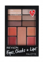 Revlon Eyes, Cheeks + Lips Complete Make-up Palette 100 Romantic Nudes naisille 39019