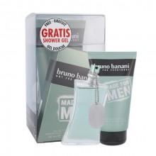 Bruno Banani Made For Men Edt 50 ml + Shower Gel 150 ml miehille 13578