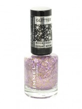 Rimmel London Glitter Medium Coverage Nail Polish 8ml 010 Sparkle Every Day naisille 56077