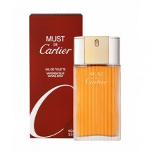 Cartier Must EDT 100ml naisille 05649