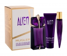 Thierry Mugler Alien Edp 60 ml + Edp 10 ml + Shower Milk 50 ml naisille 31393