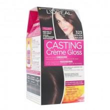 L´Oreal Paris Casting Creme Gloss Cosmetic 1ks 323 Darkest Chocolate naisille 67131