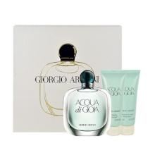 Giorgio Armani Acqua di Gioia Edp 100ml + 75ml body lotion + 75ml shower gel naisille 98478