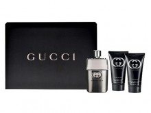 Gucci Guilty Pour Homme Edt 90ml + 75ml After shave balm + 50ml Shower gel miehille 15940