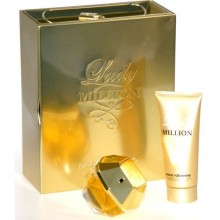 Paco Rabanne Lady Million Edp 80ml + 100ml Body lotion naisille 23207