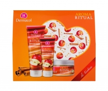 Dermacol Aroma Ritual Shower Gel 250 ml + Body Peeling 200 g + Hand Cream 100 ml naisille 18699