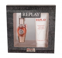 Replay True For Her Edp 20 ml + Body Lotion 100 ml naisille 45427